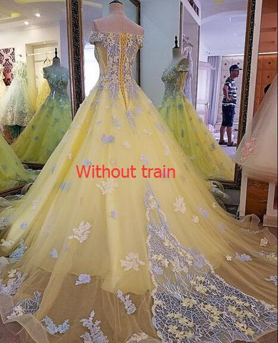 2018 evening dresses long lace ball gown lace up back (Rent 400)