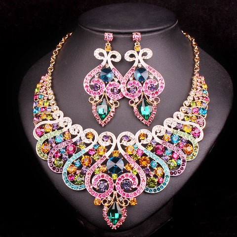 Bridal Jewelry Sets Wedding Necklace Earring set
