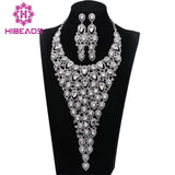Luxury Bridal Jewelry Sets Wedding Necklace Earring For Brides