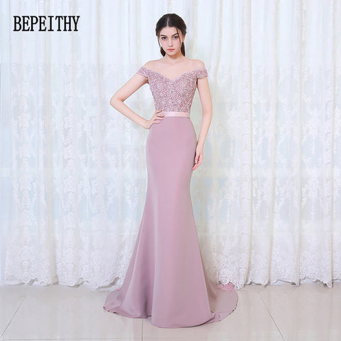 Mermaid Bridesmaid Dresses Floor Length Custom Made Long Party Dress Cheap Bridesmaid Gowns 2018