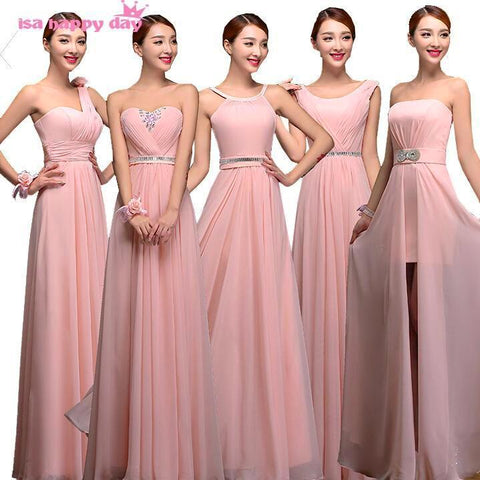 ladies petal chiffon sweetheart beaded waist dress women's bridesmaid dresses