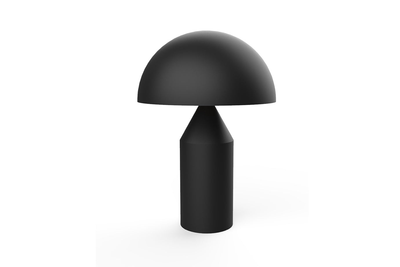 Mantar Lamp in Black