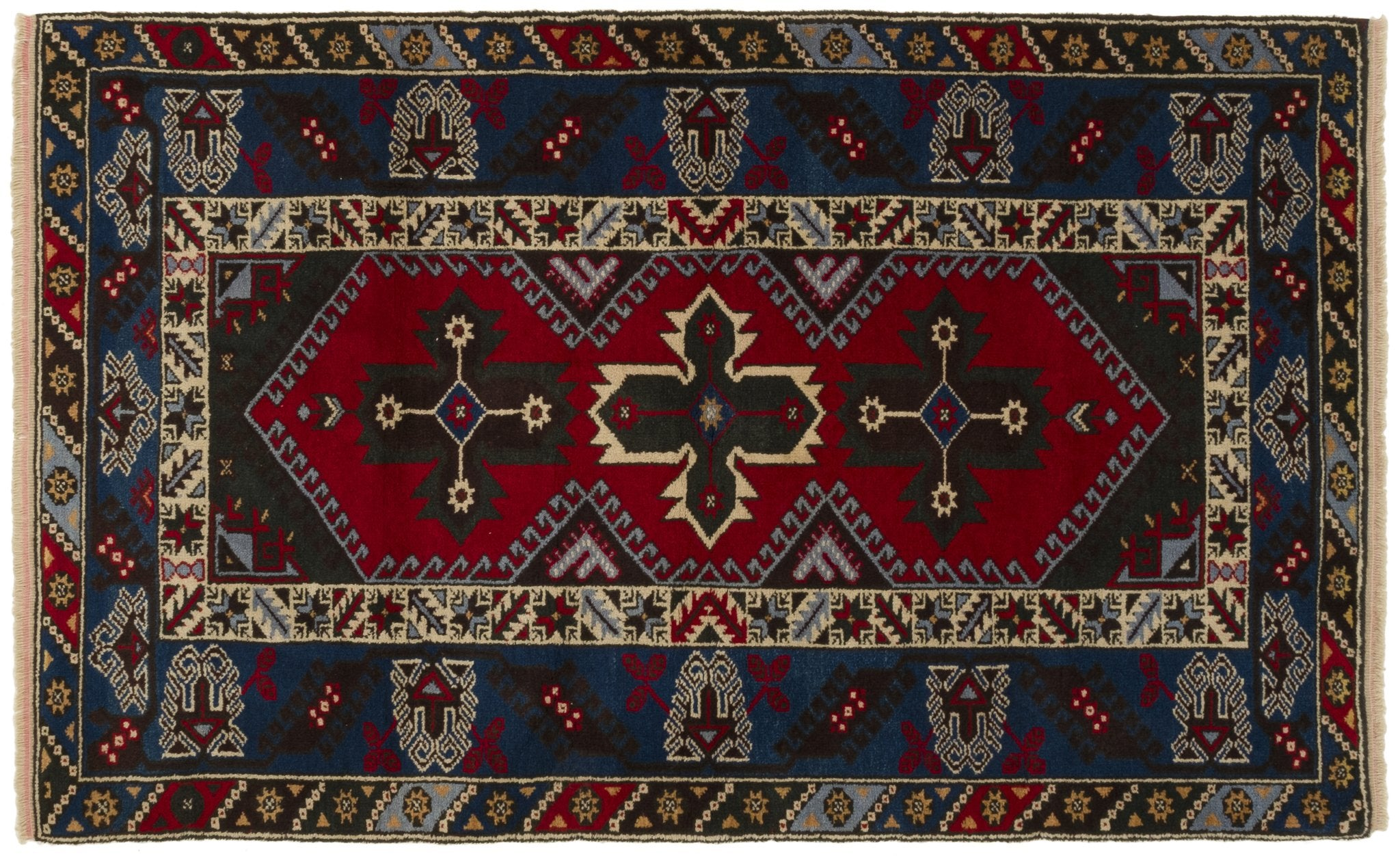 Vintage Turkish Rug Edzus