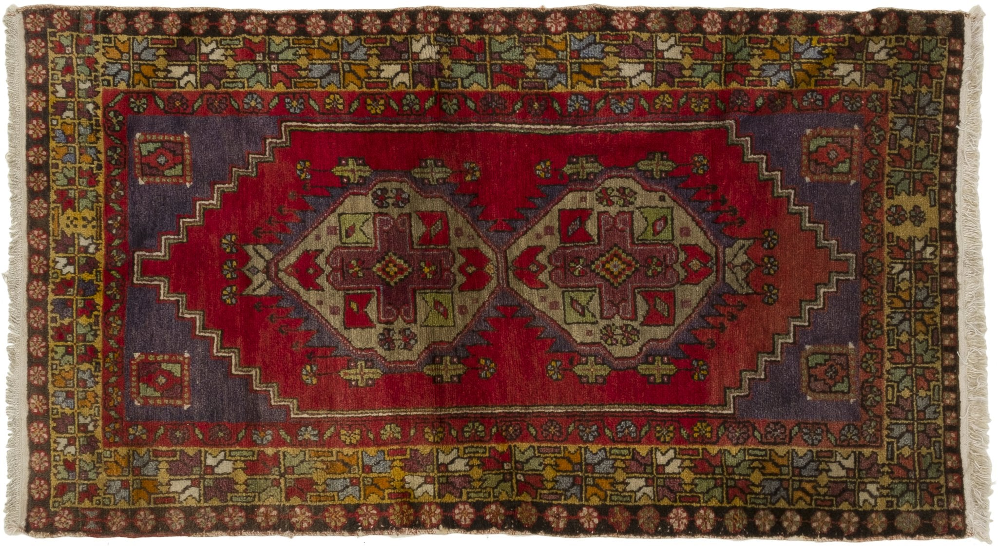 Vintage Turkish Rug Hermundur