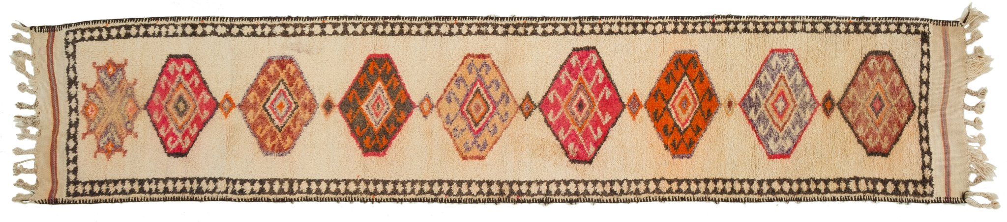 Vintage Turkish Runner Rug Kalinka