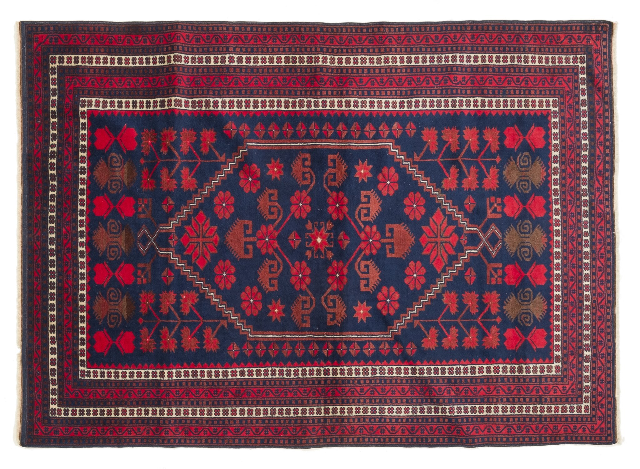 Vintage Turkish Rug Erif