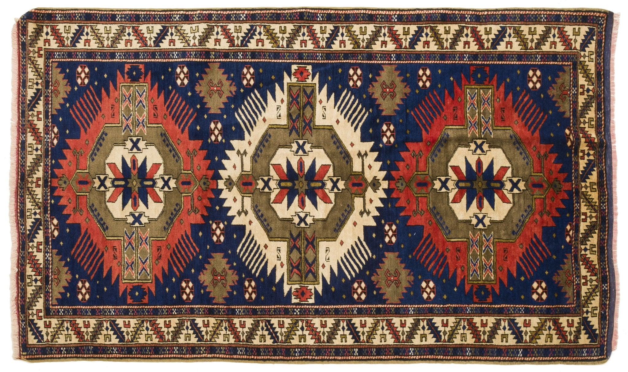 Vintage Turkish Rug Sebahate