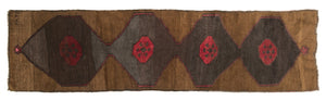 Vintage Turkish Runner Rug Hadas thumbnail