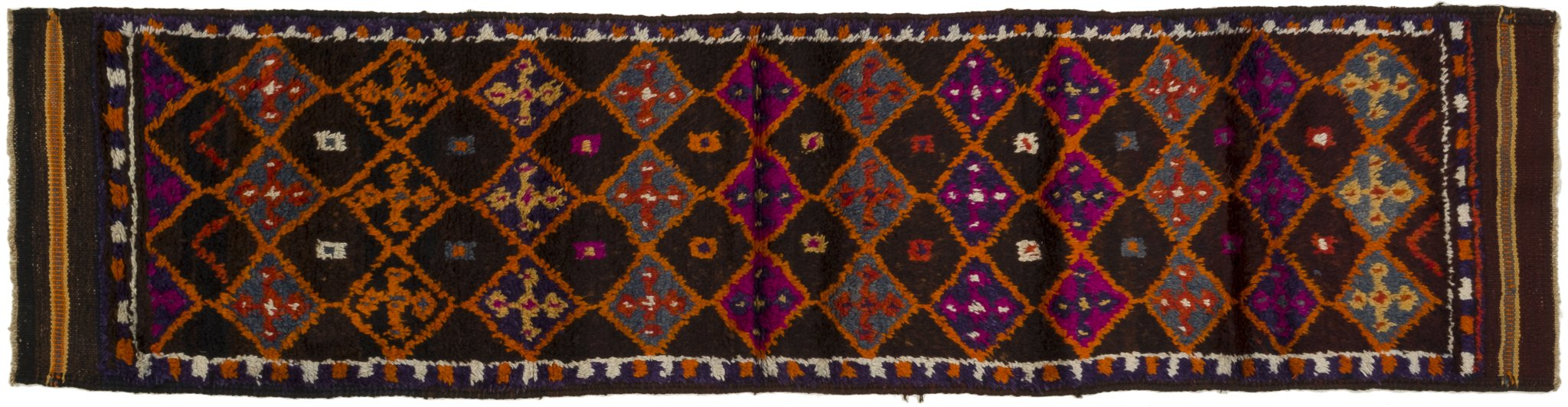 Vintage Turkish Runner Rug Andrius
