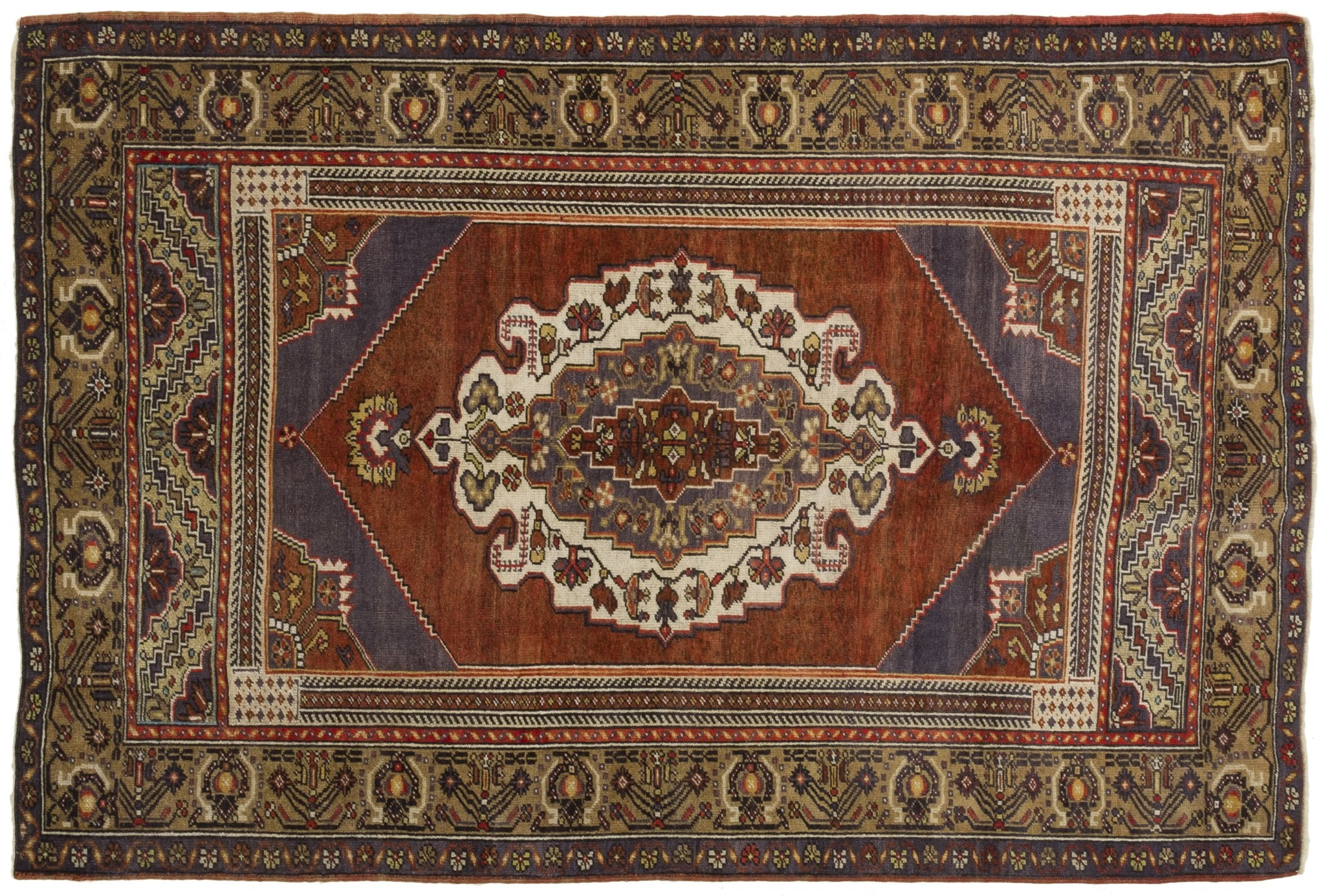 Vintage Turkish Rug Wolfgunter