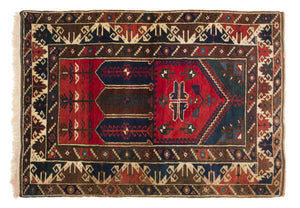 Vintage Turkish Rug Gage thumbnail