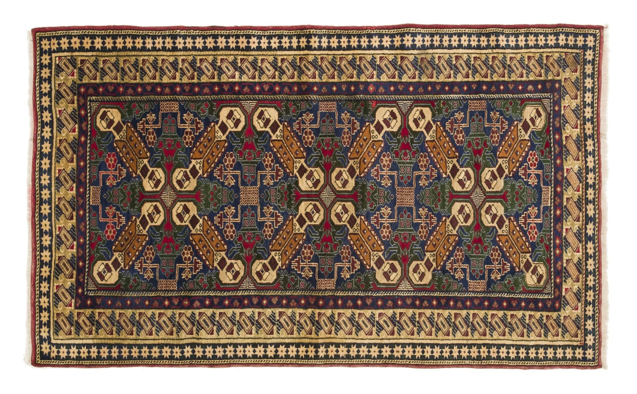 Vintage Turkish Rug Laime