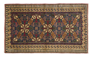 Vintage Turkish Rug Laime thumbnail