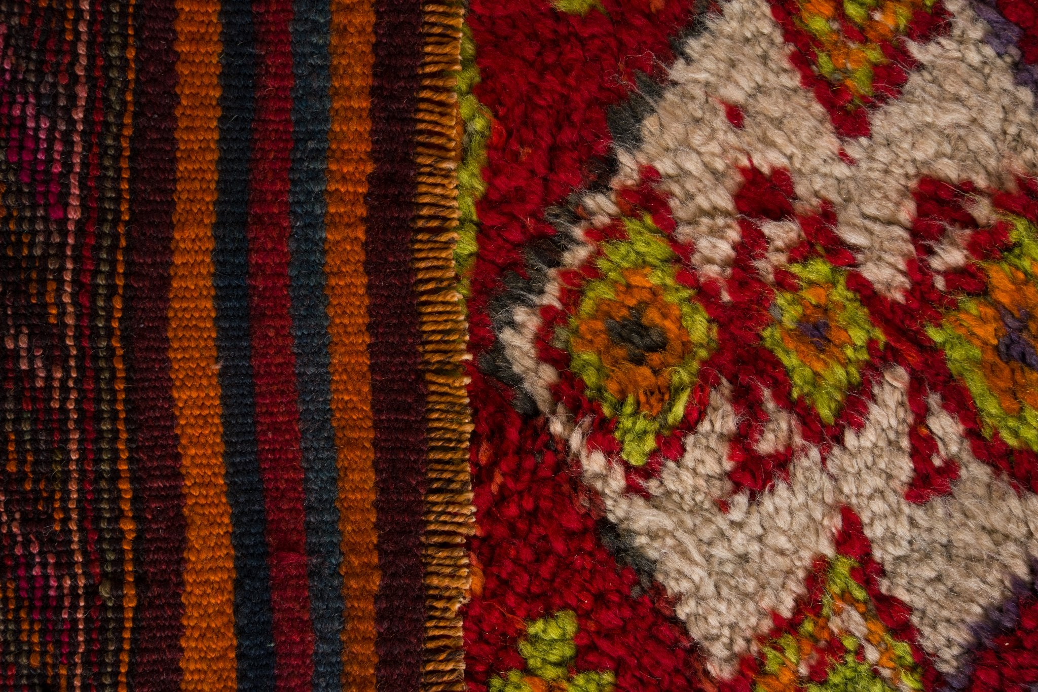 Vintage Turkish Runner Rug Rosinkrans