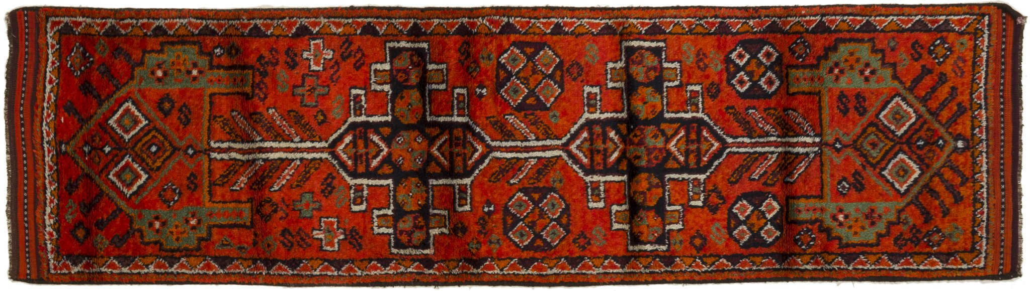 Vintage Turkish Runner Rug Annachiara