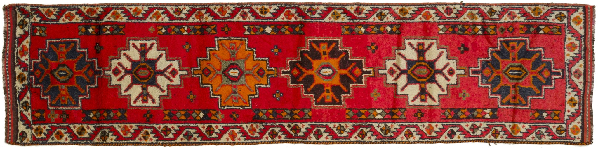 Vintage Turkish Runner Rug Dannie