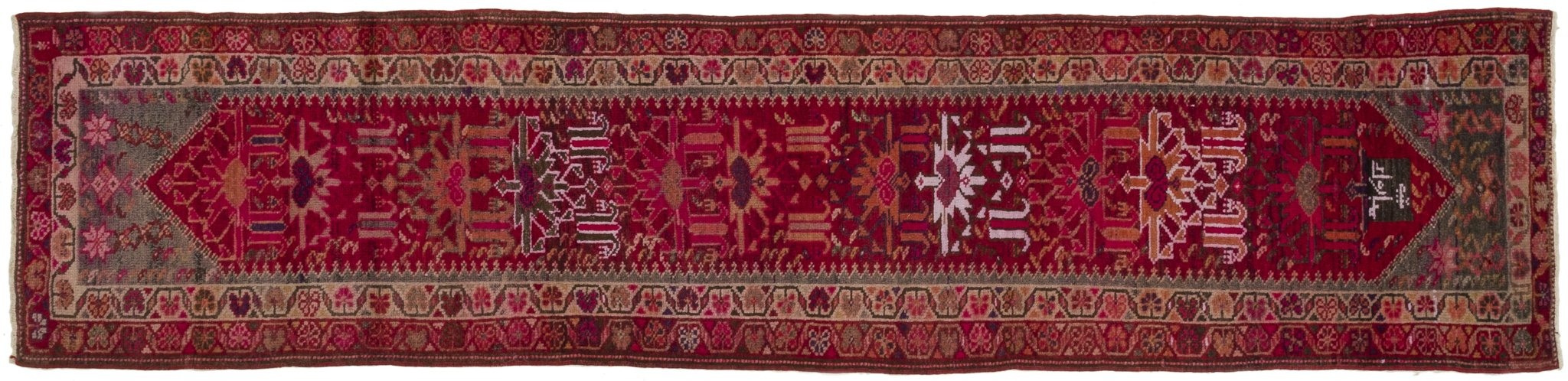 Vintage Turkish Runner Rug Sunna