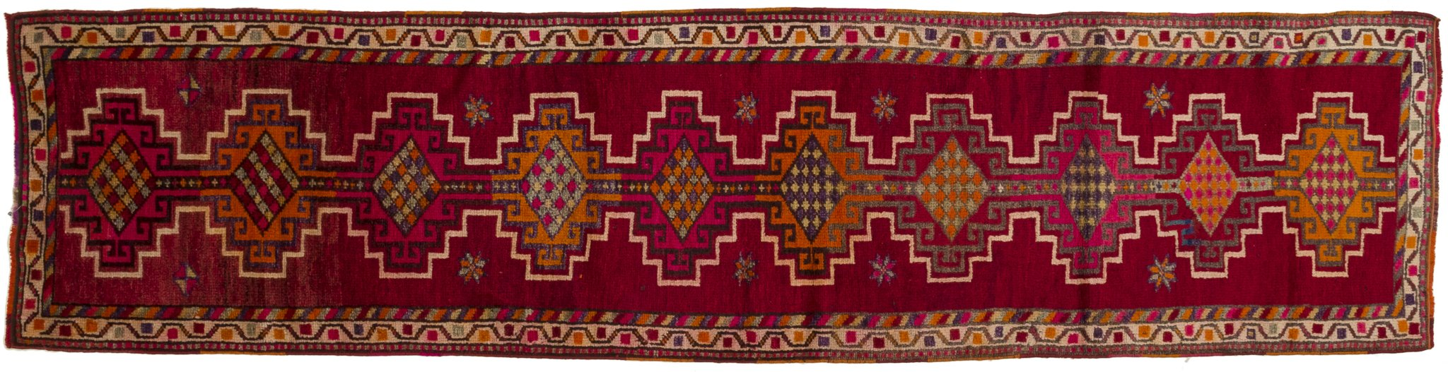 Vintage Turkish Runner Rug Arnfinnur