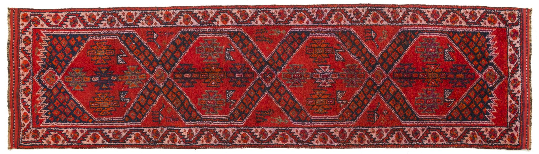 Vintage Turkish Runner Rug Innocenta
