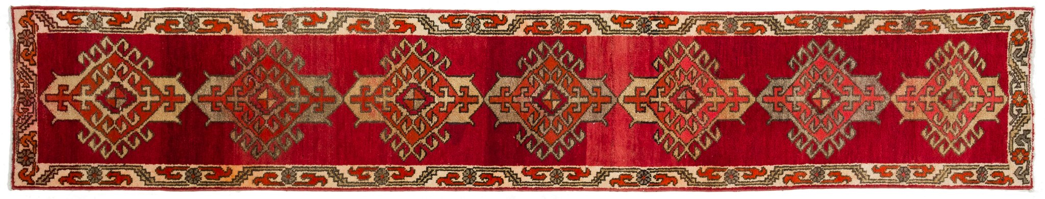 Vintage Turkish Runner Rug Aliki