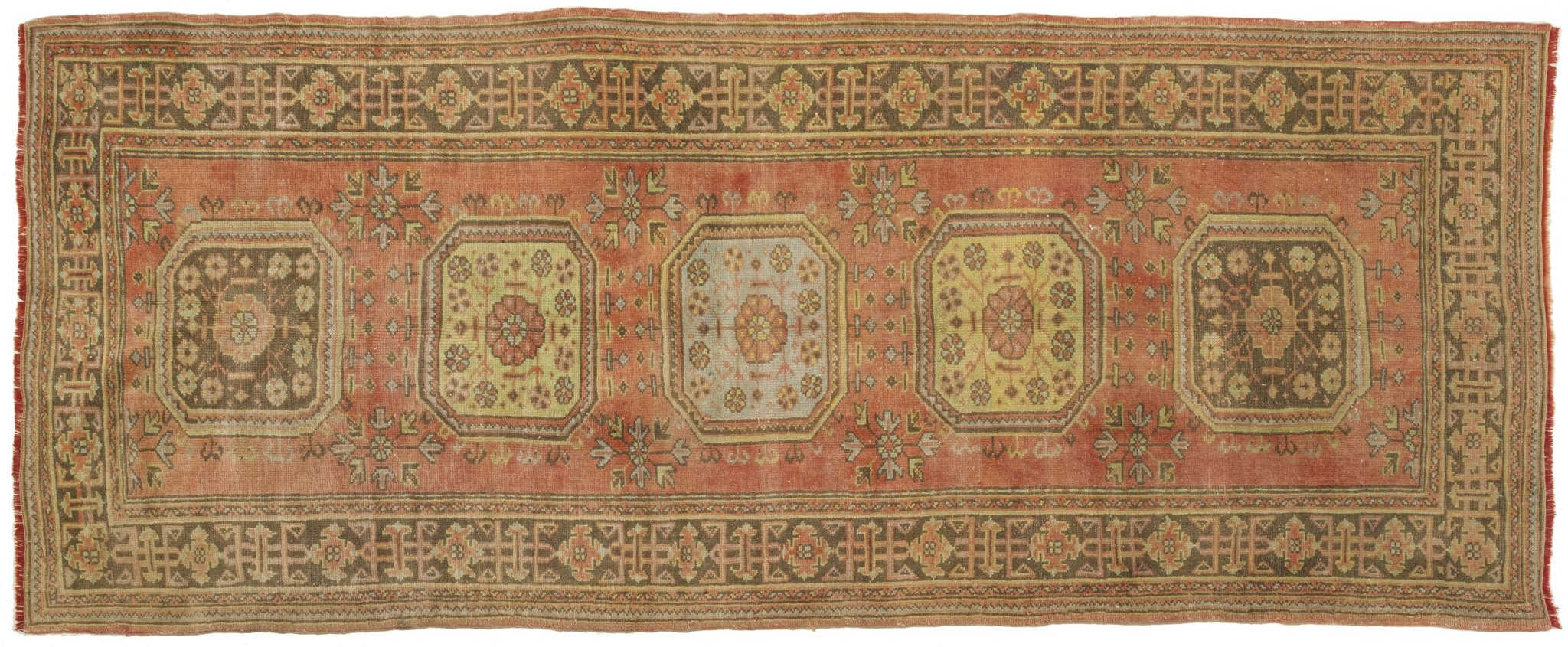 Vintage Turkish Runner Rug Betzy