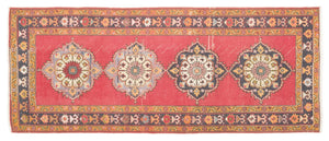 Vintage Turkish Runner Rug Fadri thumbnail