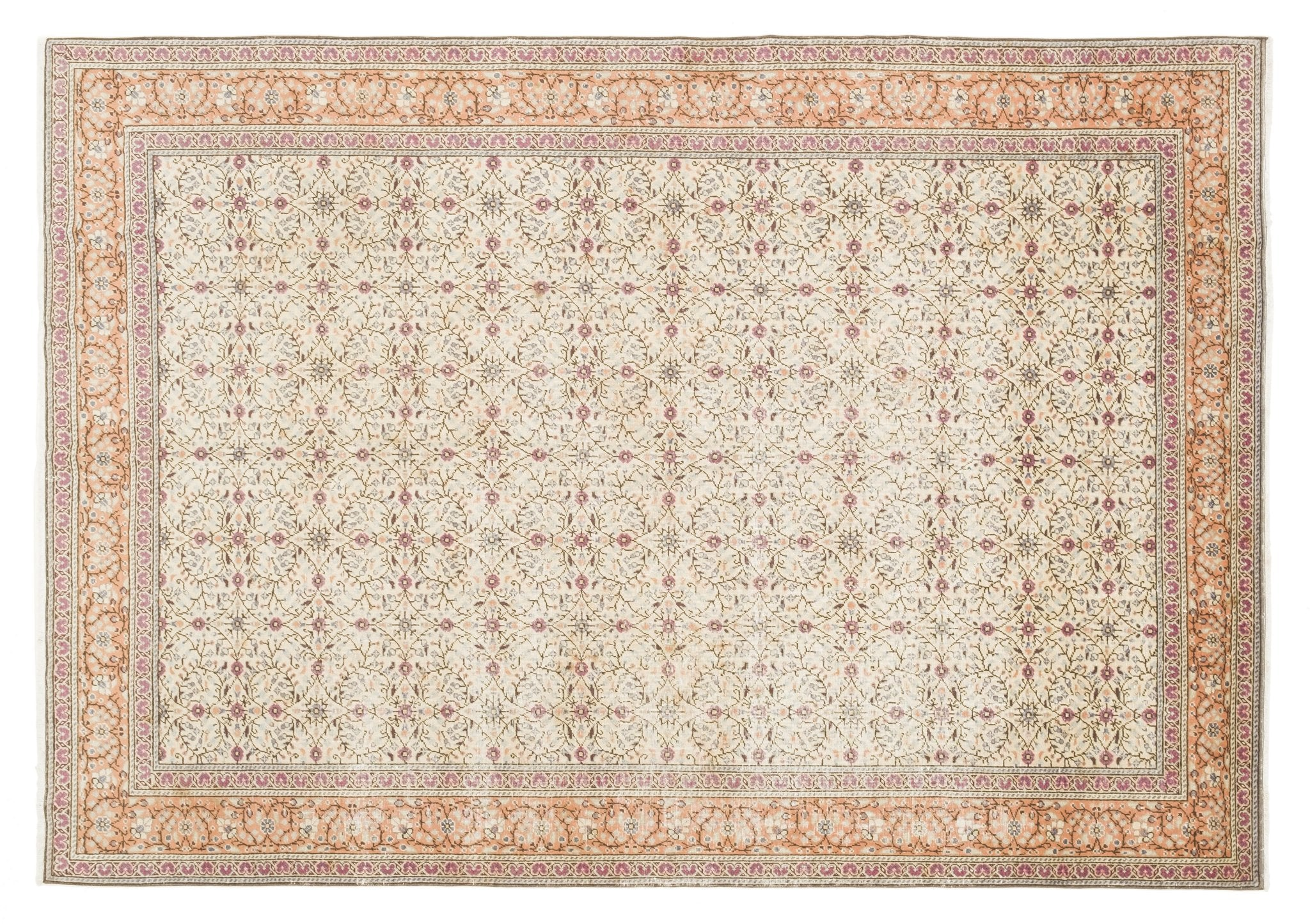 Vintage Turkish Rug Cal