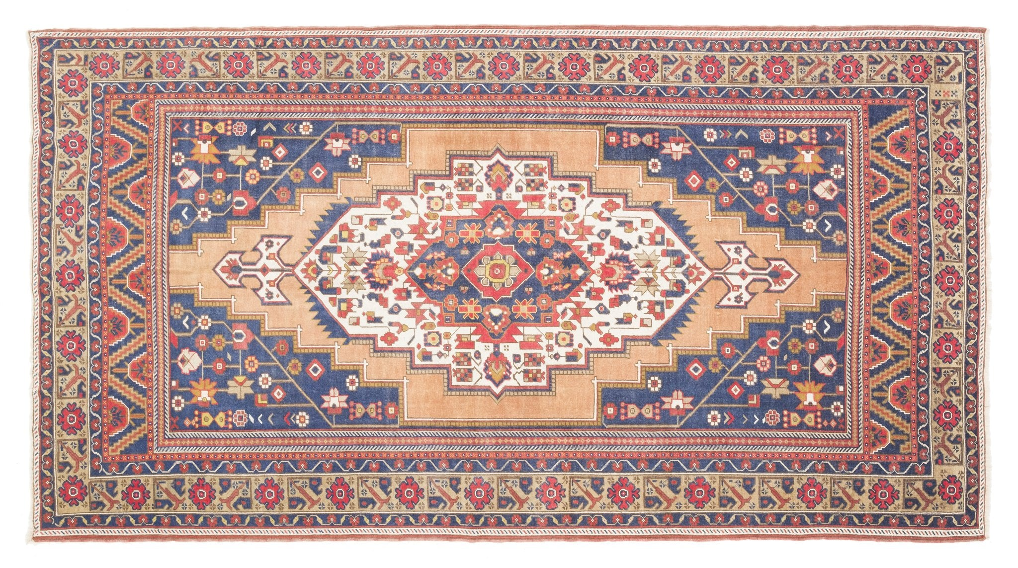 Vintage Turkish Rug Saapke