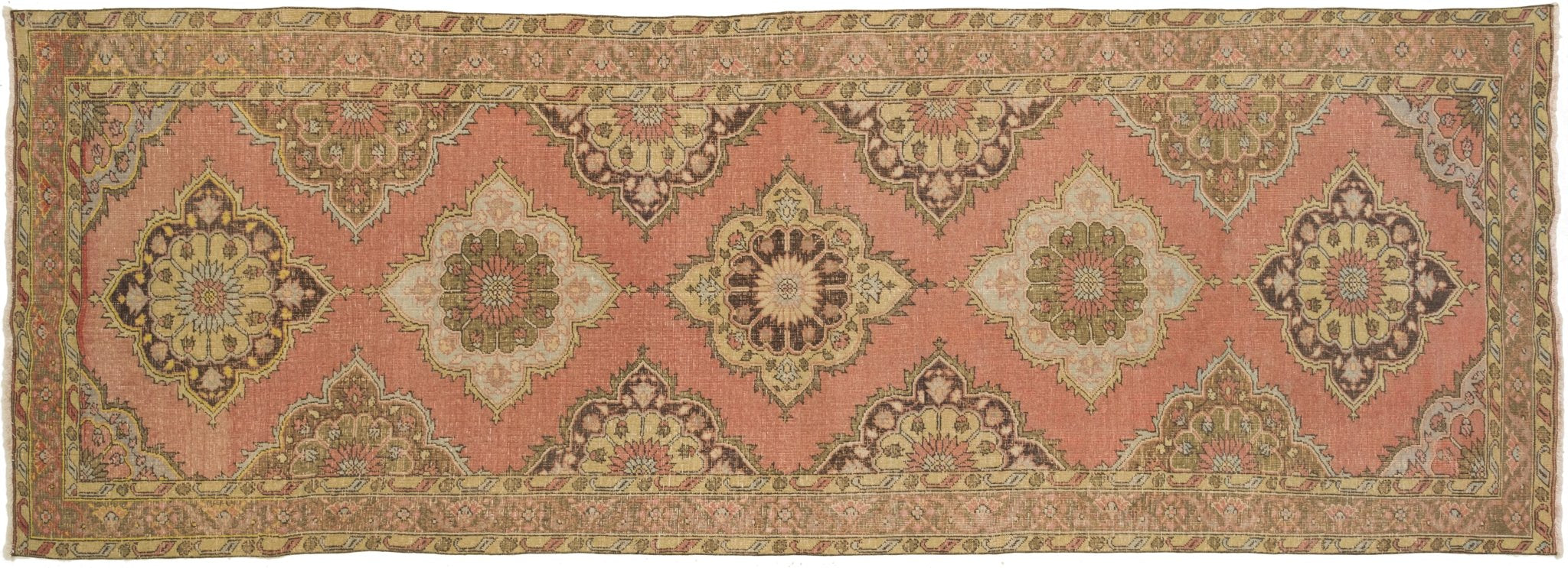 Vintage Turkish Runner Rug Ean