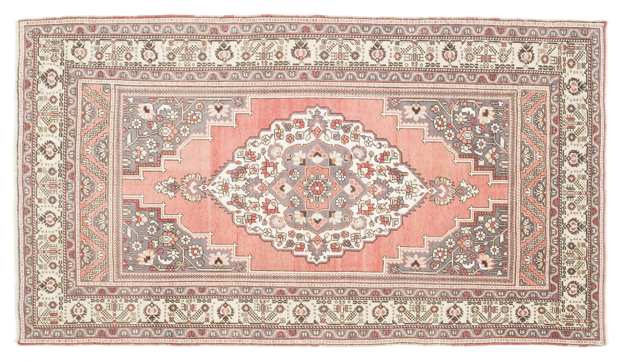 Vintage Turkish Rug Badin