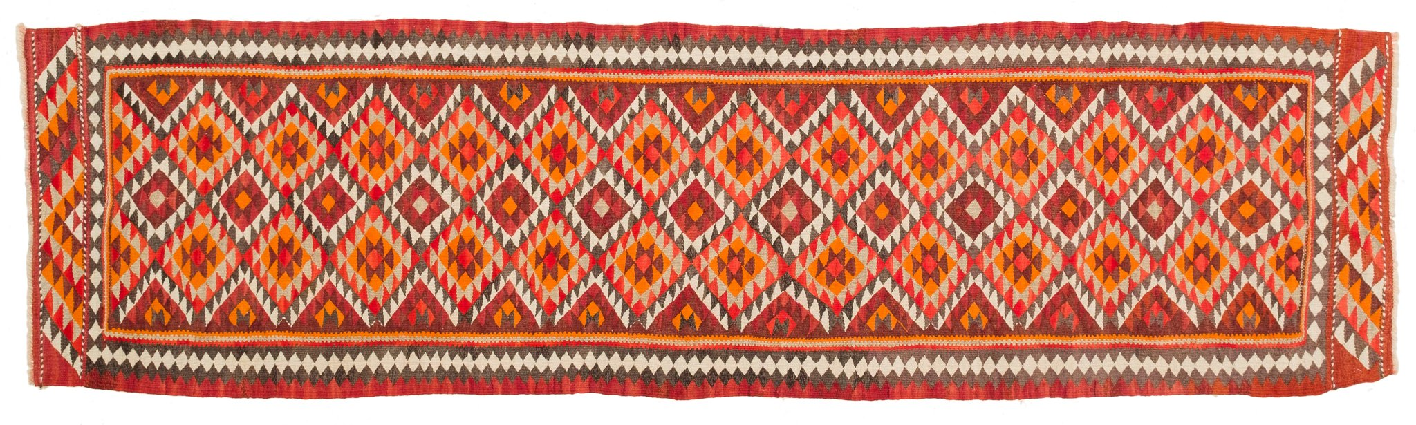 Vintage Kilim Runner Rug Raimonds