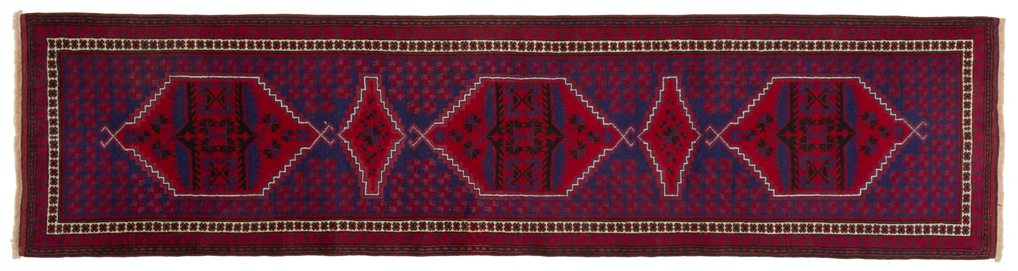Vintage Turkish Runner Rug Alick