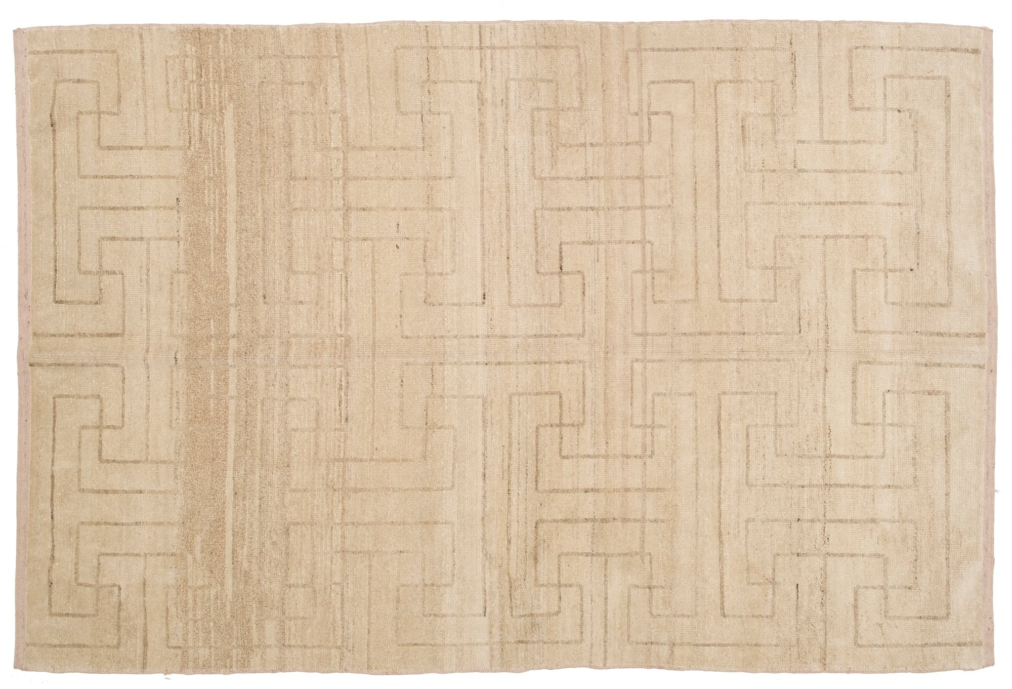 Hand knotted Oushak Rug Andelo