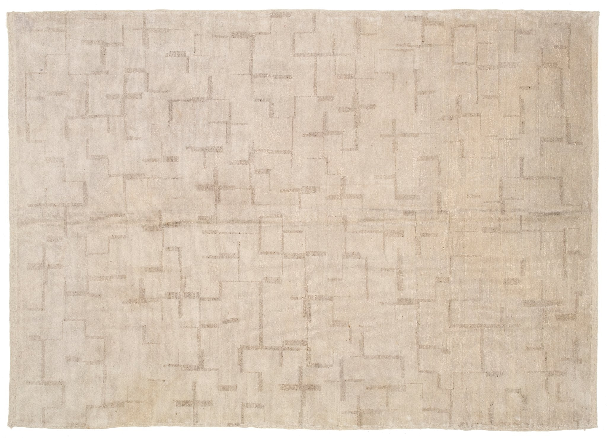 Hand knotted Oushak Rug Colten