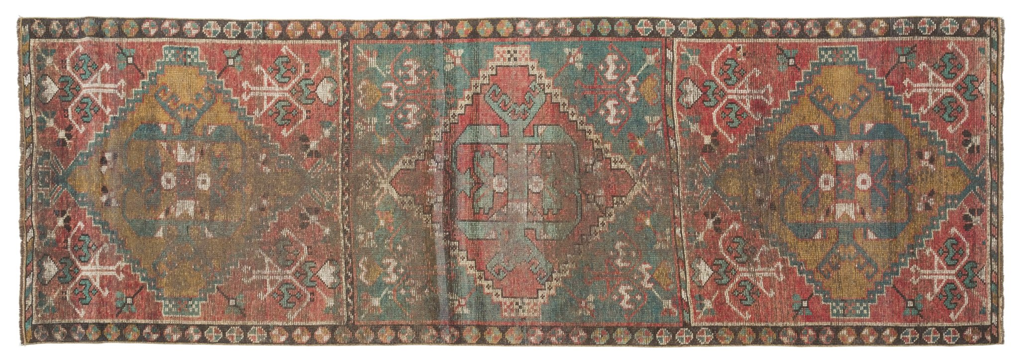 Vintage Turkish Runner Rug Ambros