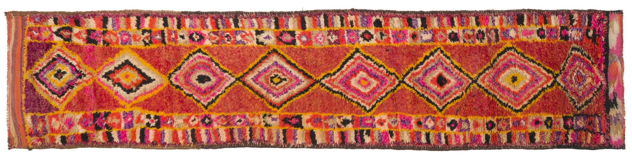 Vintage Turkish Runner Rug Adalsteinn
