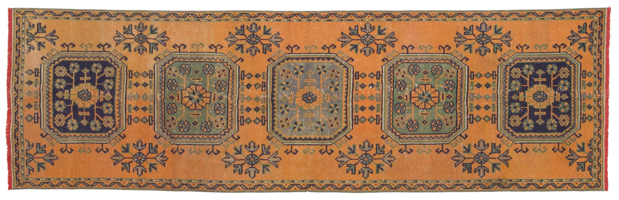 Vintage Turkish Runner Rug Ryhor
