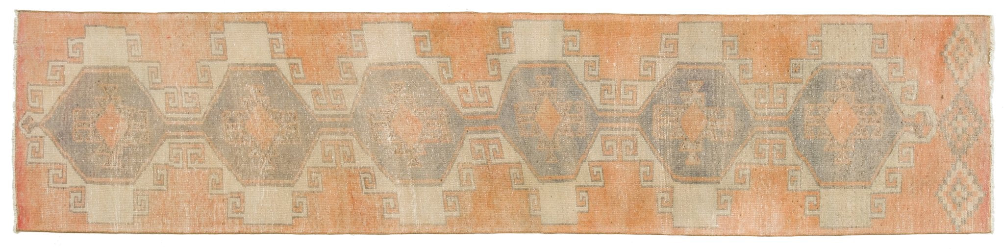 Vintage Turkish Runner Rug Blagoyka