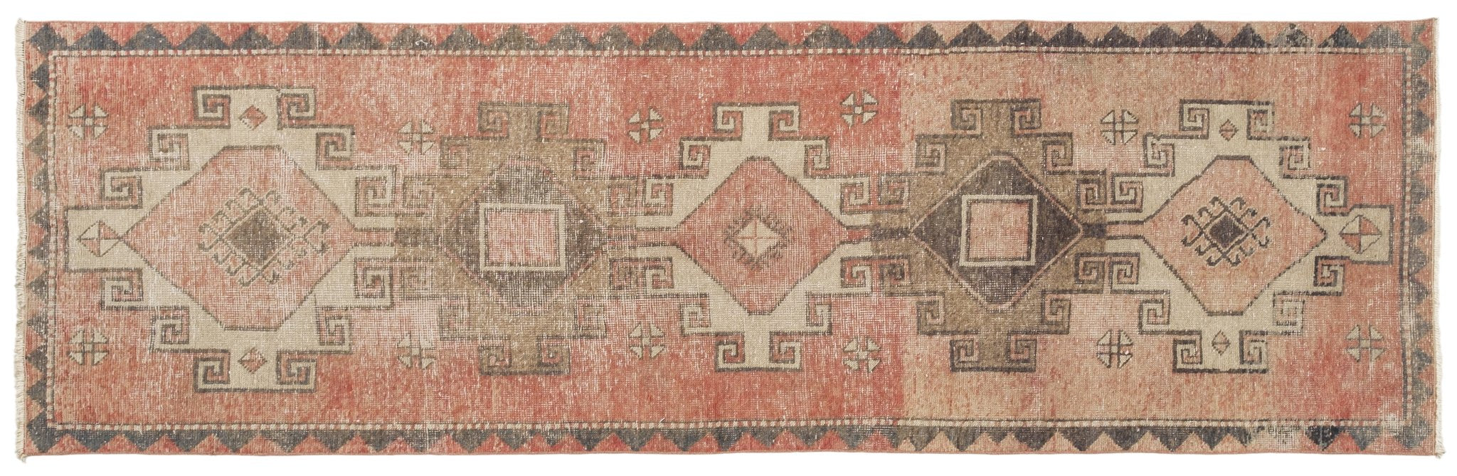 Vintage Turkish Runner Rug Thyl