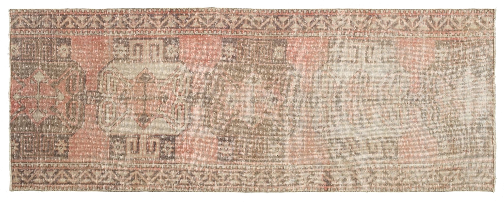 Vintage Turkish Runner Rug Florindo