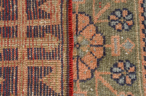 Vintage Turkish Runner Rug Shefquet thumbnail