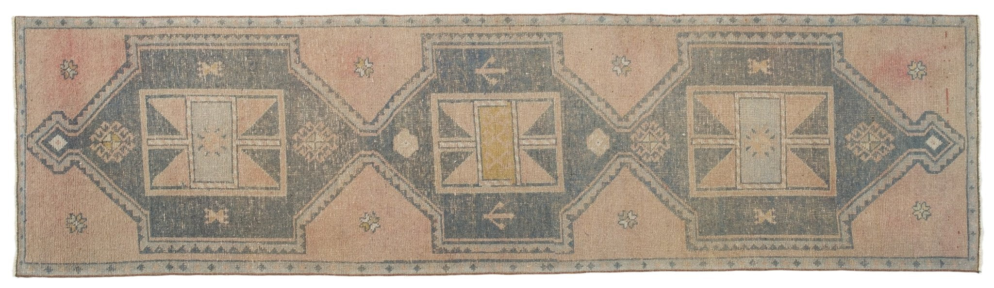 Vintage Turkish Runner Rug Adeele