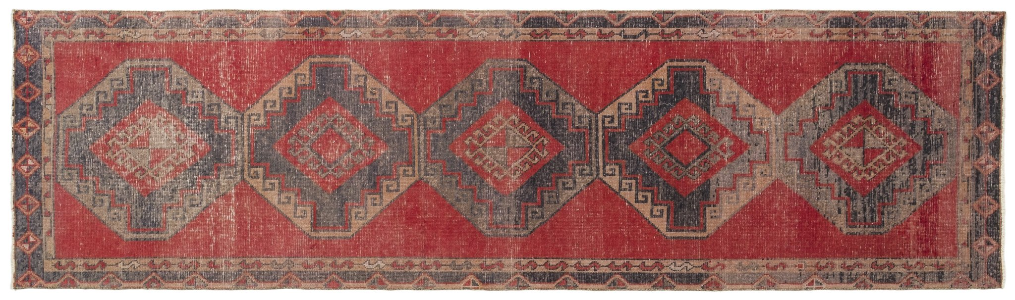 Vintage Turkish Runner Rug Arminda