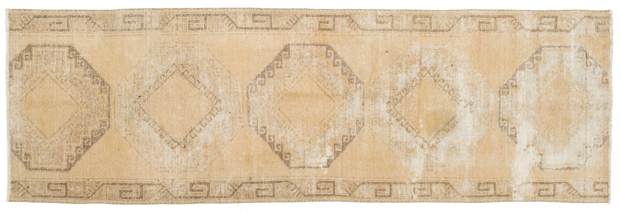 Vintage Turkish Runner Rug Atmane