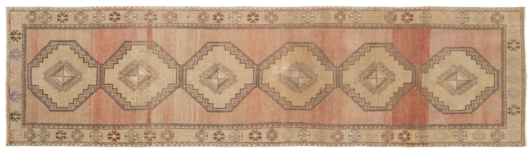 Vintage Turkish Runner Rug Astri