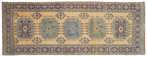 Vintage Turkish Runner Rug Heliodora thumbnail