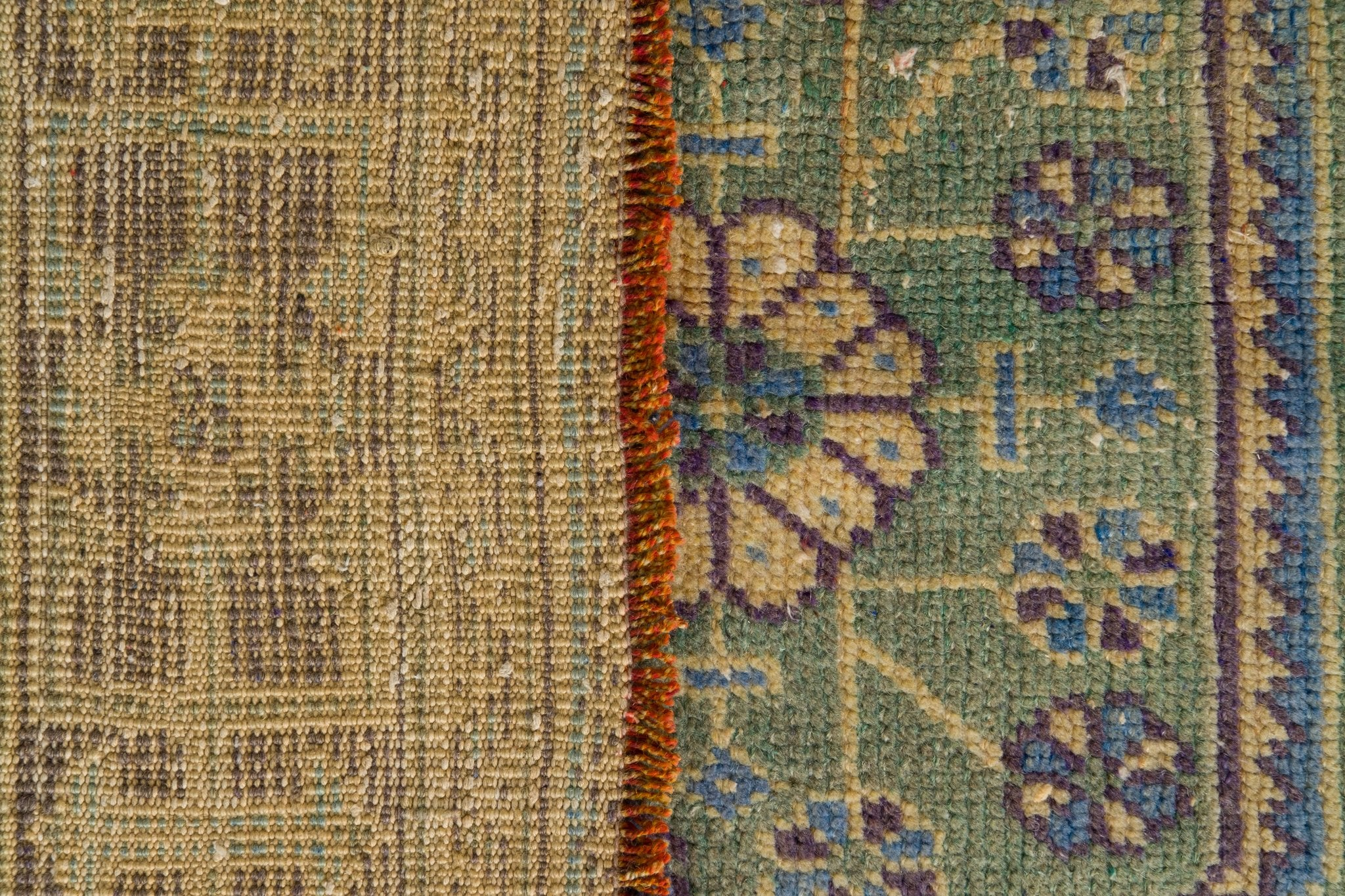 Vintage Turkish Runner Rug Heliodora