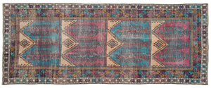 Vintage Turkish Runner Rug Shamina thumbnail