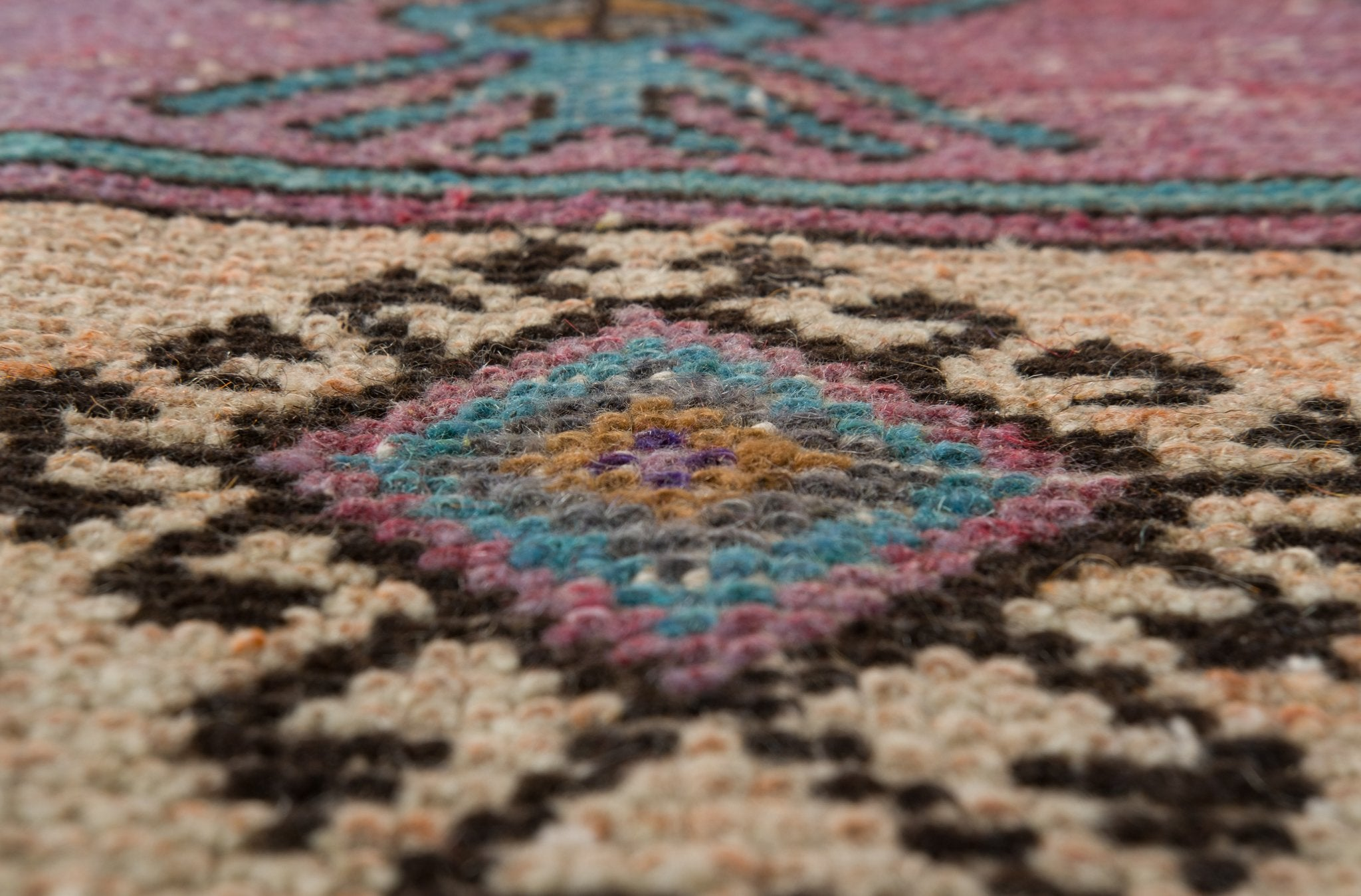 Vintage Turkish Runner Rug Shamina