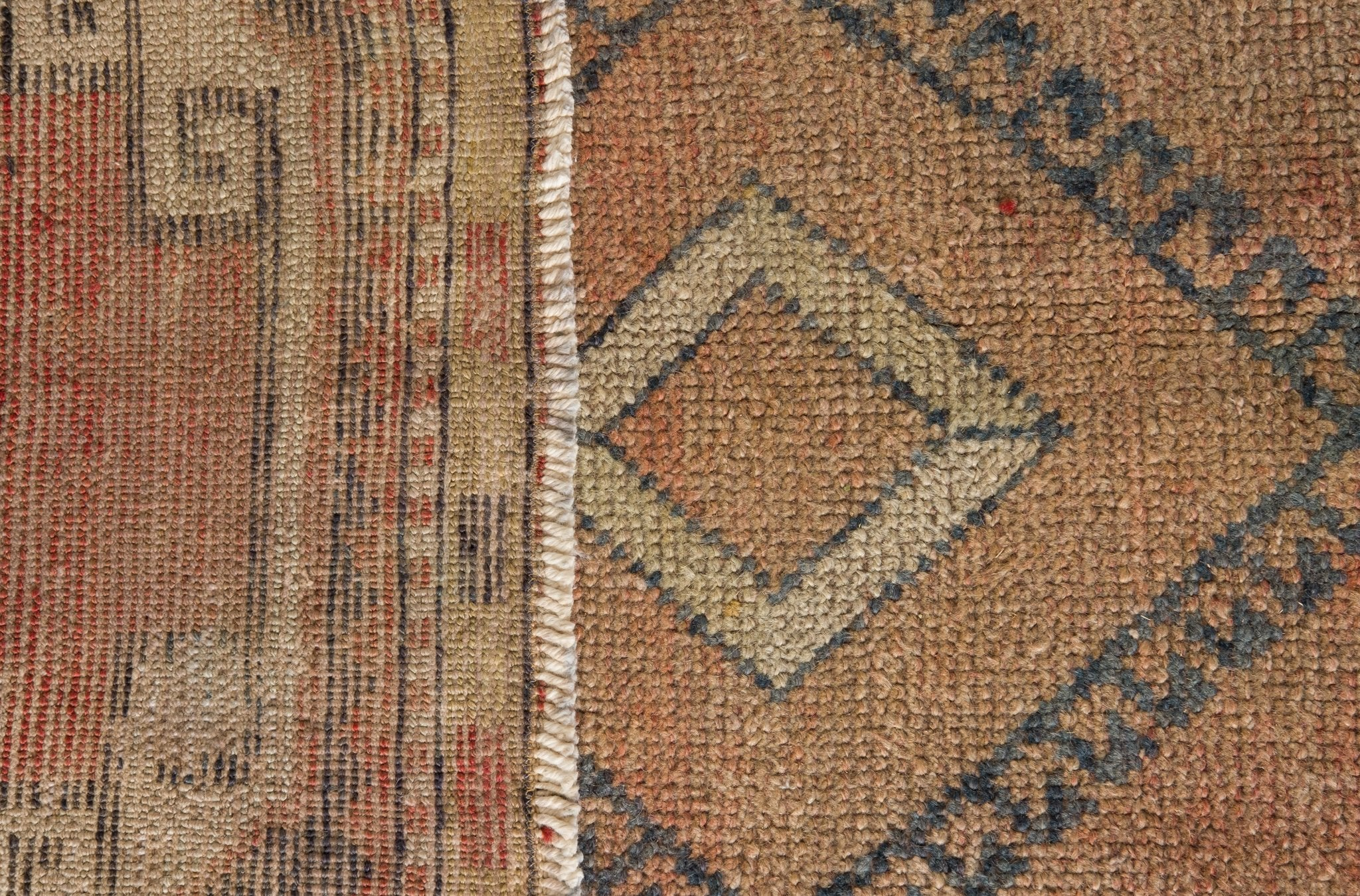 Vintage Turkish Runner Rug Massouda